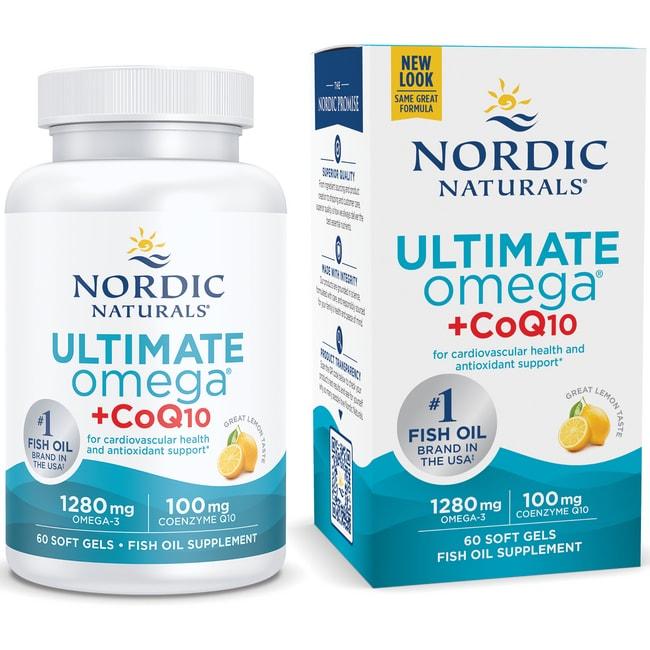 Nordic NaturalsUltimate Omega + CoQ10
