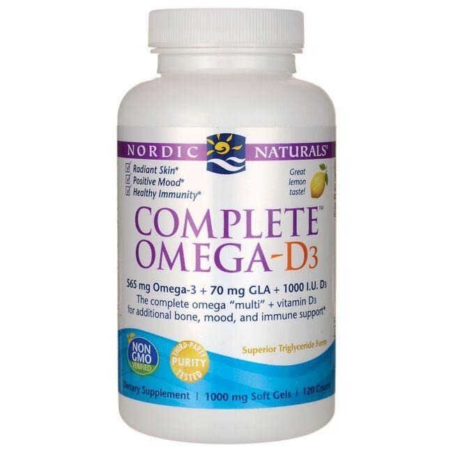 Nordic NaturalsComplete Omega - D3 - Lemon