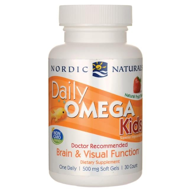 Nordic NaturalsDaily Omega Kids - Natural Strawberry