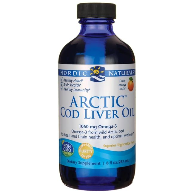 Nordic Naturals Orange Flavored Arctic Cod Liver Oil