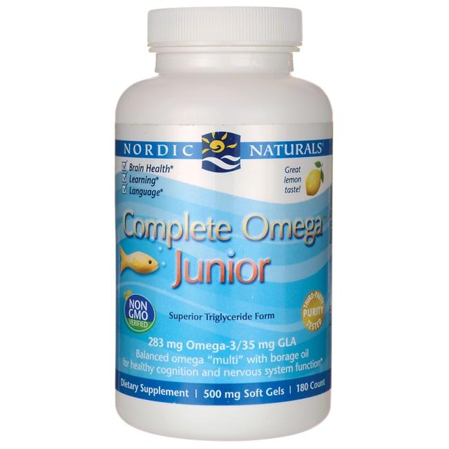 Nordic Naturals Junior Fish Oil