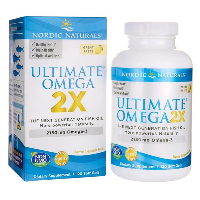 Nordic NaturalsUltimate Omega 2X - Lemon