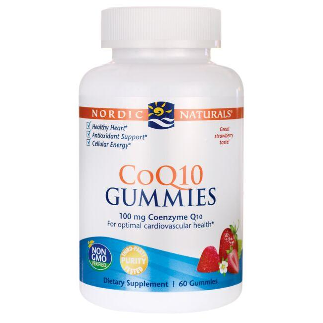 Nordic Naturals CoQ10 Gummies - Strawberry