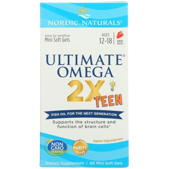 Nordic NaturalsUltimate Omega 2X Teen - Strawberry
