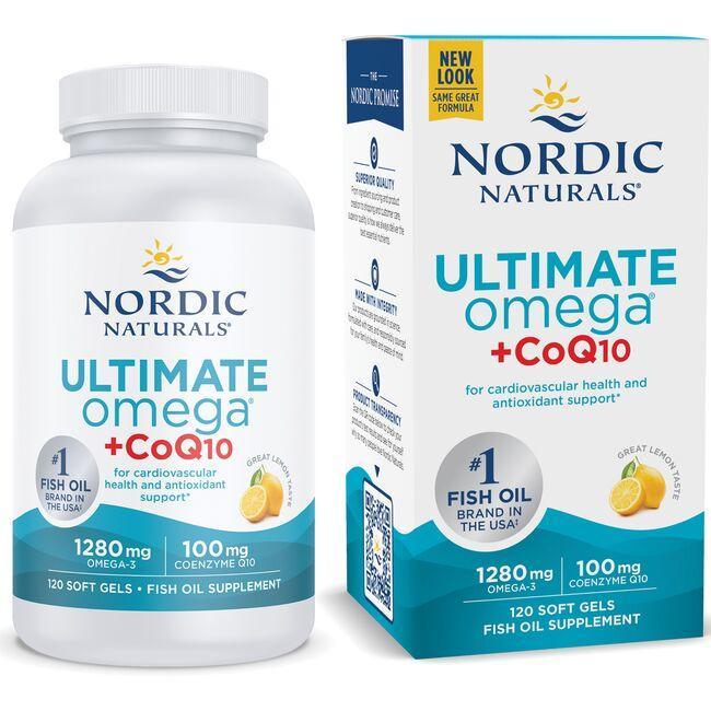 Nordic NaturalsUltimate + Omega CoQ10