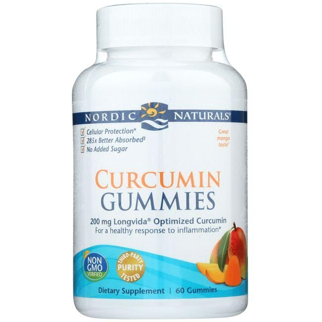 Nordic NaturalsCurcumin Gummies - Mango
