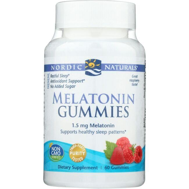 Nordic Naturals Melatonin Gummies - Raspberry