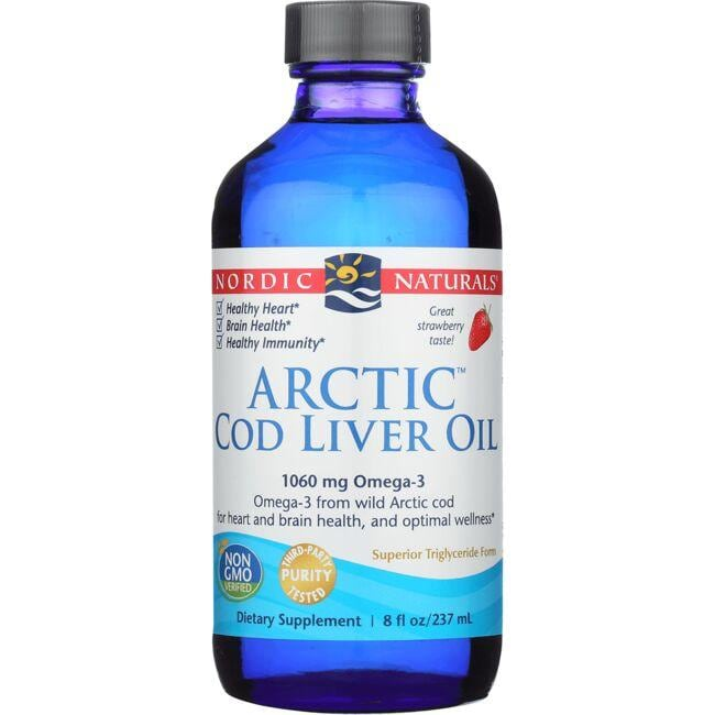 Nordic NaturalsArctic Cod Liver Oil - Strawberry