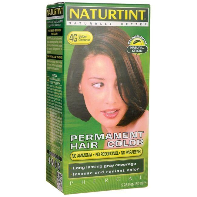 Naturtint Permanent Hair Color 4g Golden Chestnut 1 Box Swanson