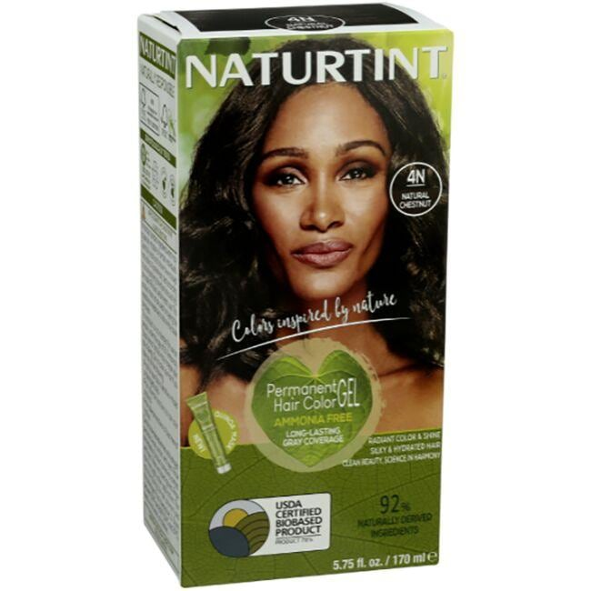 Naturtint Permanent Hair Color 4n Natural Chestnut 1 Box Swanson