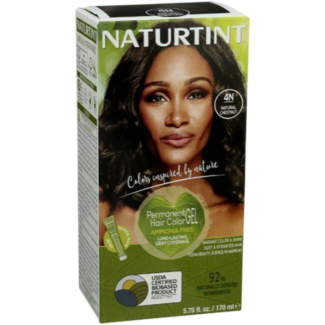 NaturtintPermanent Hair Color - 4N Natural Chestnut