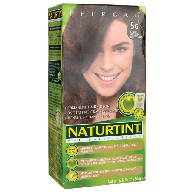 NaturtintPermanent Hair Color - 5G Light Golden Chestnut