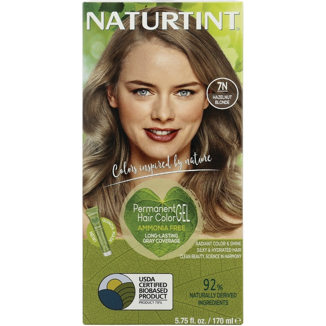 Naturtint Permanent Hair Color - 7N Hazelnut Blonde