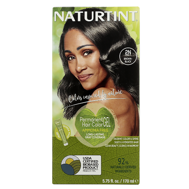 NaturtintPermanent Hair Color - 2N Brown-Black