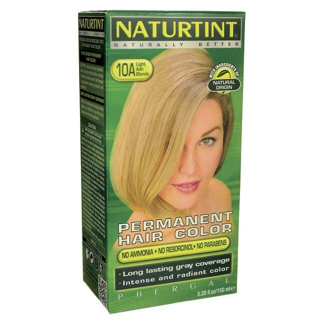 NaturtintPermanent Hair Color - 10A Light Ash Blonde