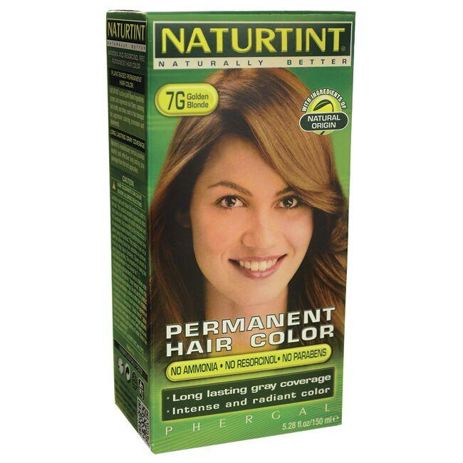 Naturtint Permanent Hair Color 7g Golden Blonde 1 Box Swanson