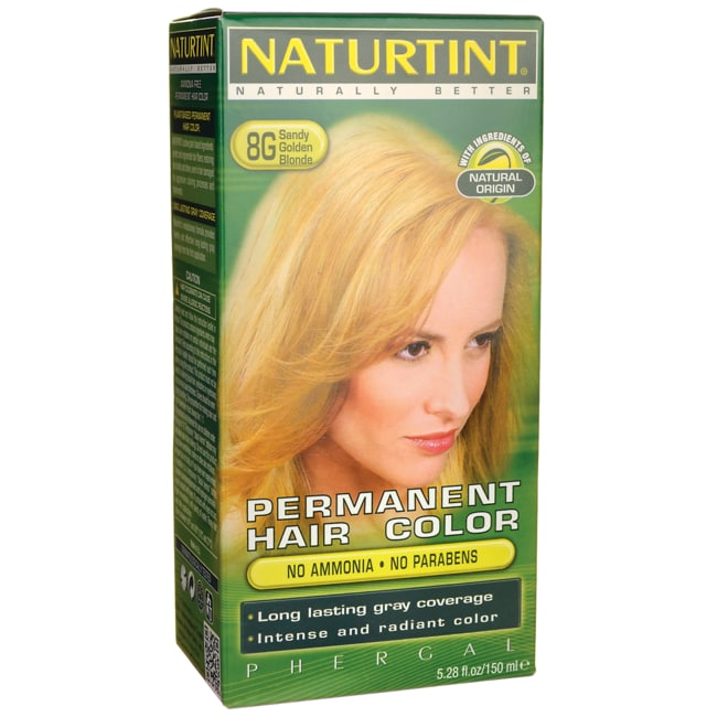 Naturtint Permanent Hair Color - 8G Sandy Golden Blonde