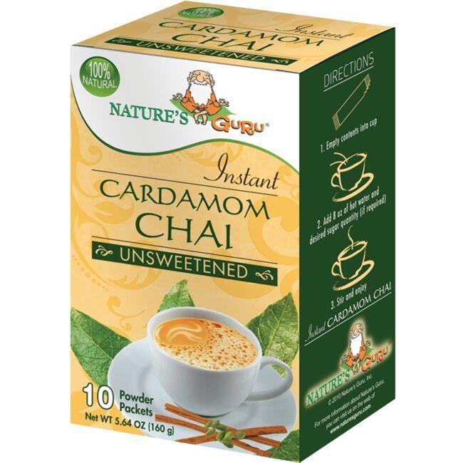 Nature's GuruInstant Cardamom Chai - Unsweetened