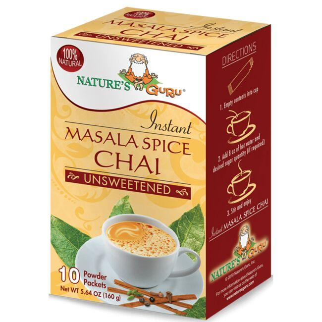 Nature's GuruInstant Masala Spice Chai - Unsweetened