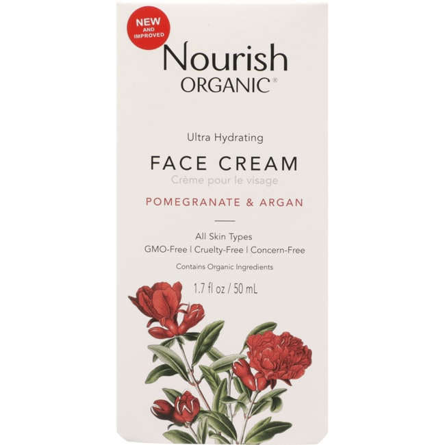 Nourish OrganicsFace Cream - Argan + Pomegranate