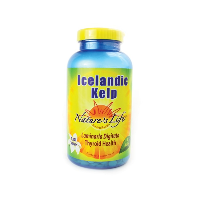 Nature's LifeIcelandic Kelp