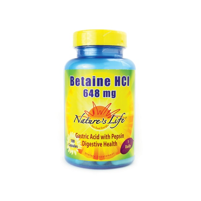 Nature's LifeBetaine HCl