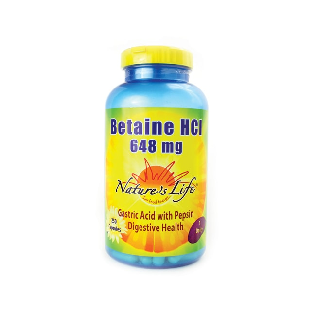 Nature's Life Betaine HCl