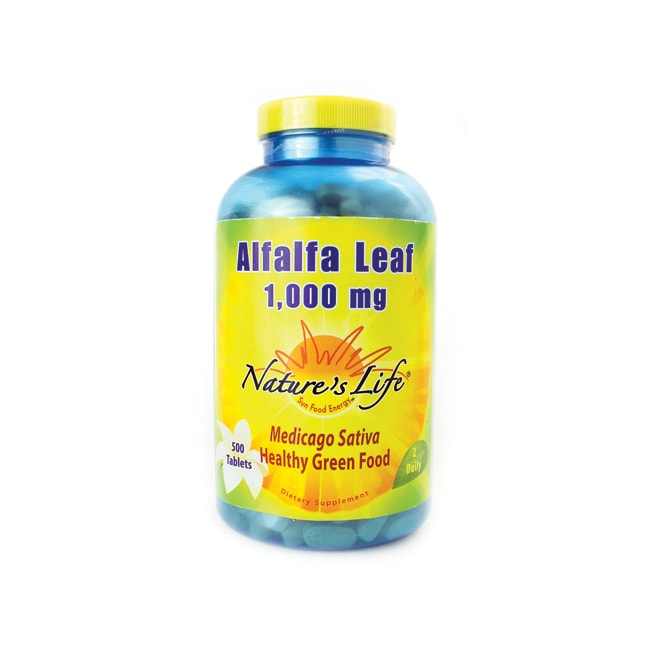 Nature's Life Alfalfa Leaf