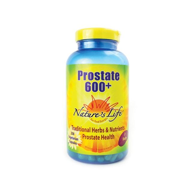 Nature's Life Prostate 600+
