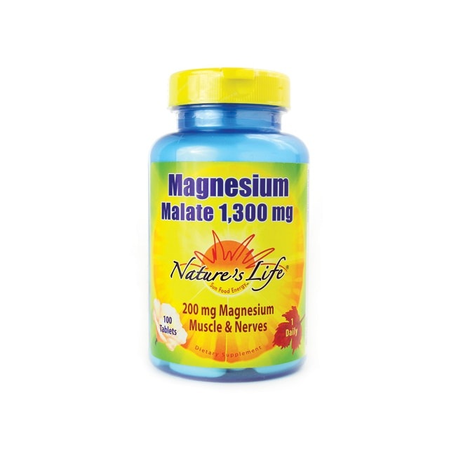Nature's Life Magnesium Malate
