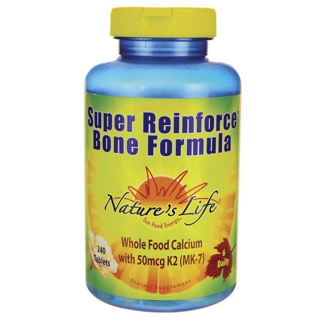 Nature's LifeSuper Reinforce Bone Formula