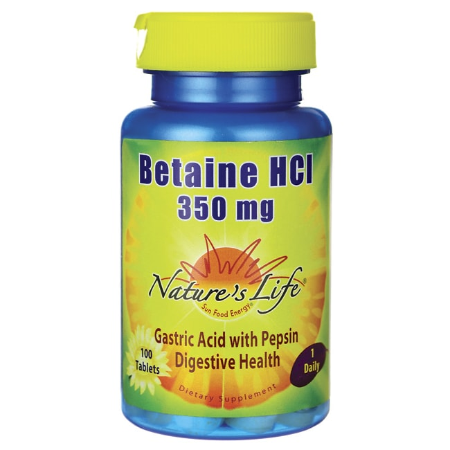 Nature's Life Betaine HCI