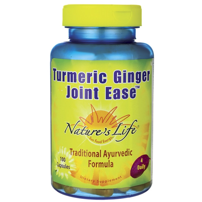 Nature's LifeTurmeric Ginger Joint Ease