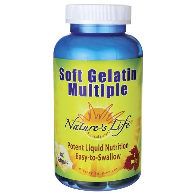 Nature's LifeSoft Gelatin Multiple