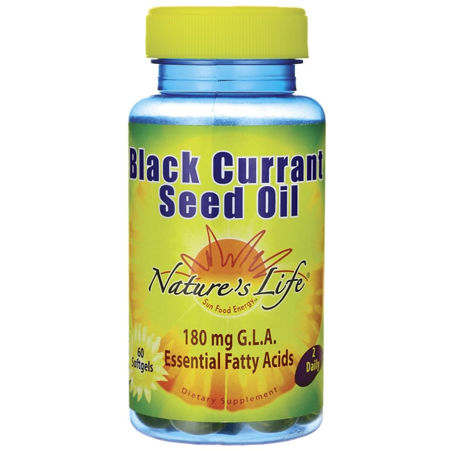 Nature's LifeBlack Currant Seed Oil