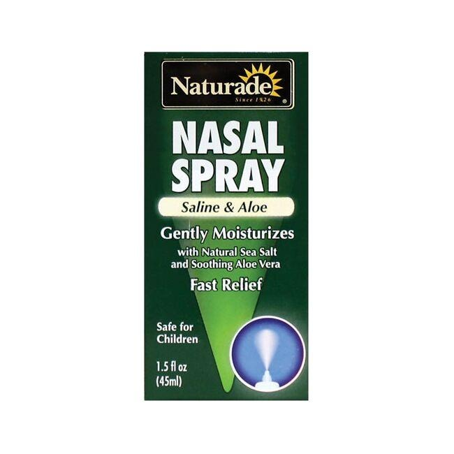NaturadeNasal Spray Saline and Aloe