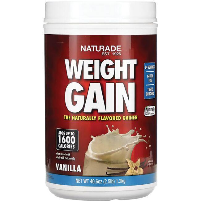 NaturadeWeight Gain Instant Nutrition Drink Mix - Vanilla