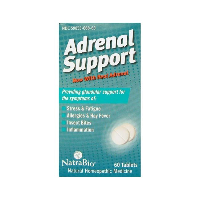 NatraBioAdrenal Support