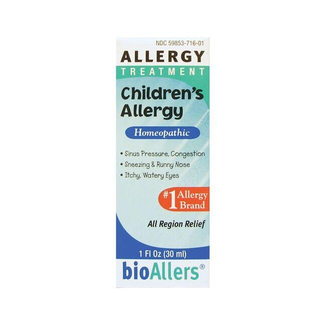 BioAllersChildren's Allergy Treatment
