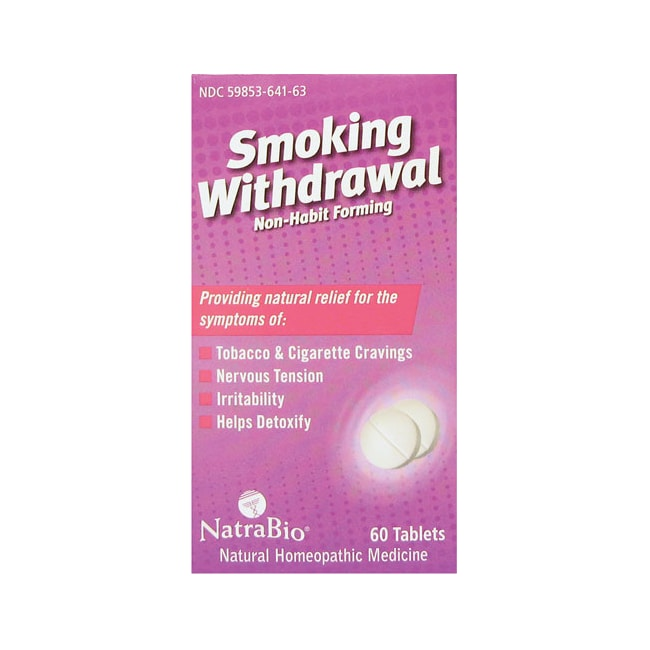 NatraBioSmoking Withdrawal Non-Habit Forming