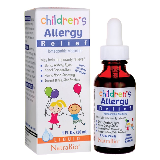NatraBio Children's Allergy Relief