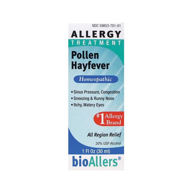 BioAllers Pollen Hay Fever Allergy Treatment