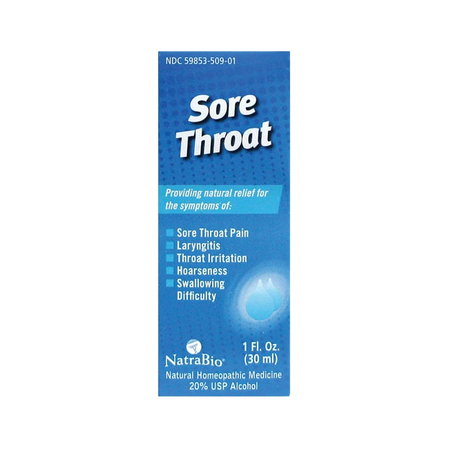 NatraBioSore Throat Relief