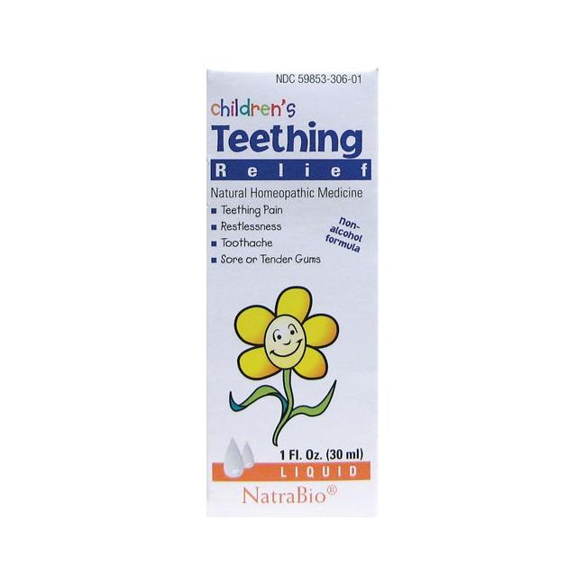 NatraBio Children's Teething Relief