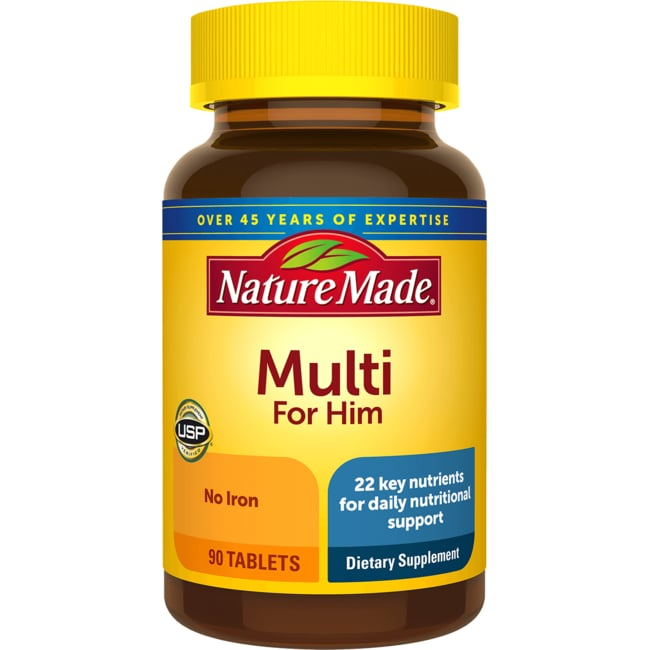 Nature Made Multivitamin For Him Review
