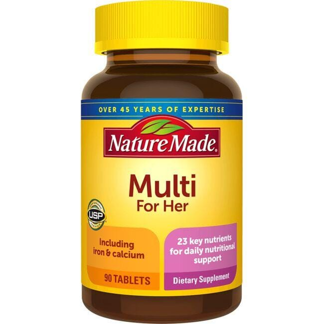 Nature Made Multivitamin With Iron Food