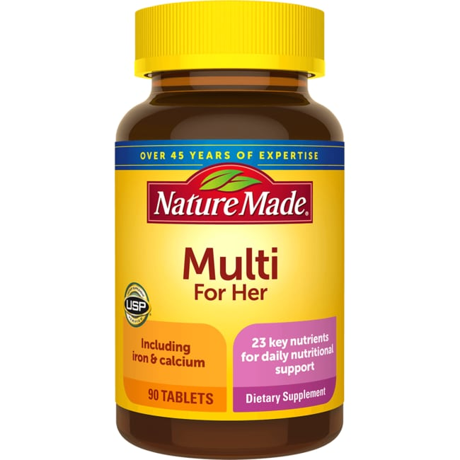 Nature Made Multi For Her with Iron and Calcium