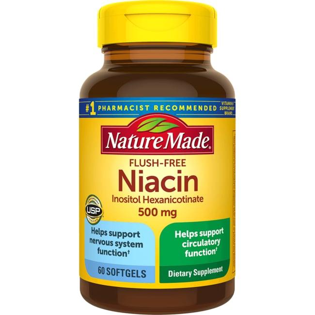 Flush niacin