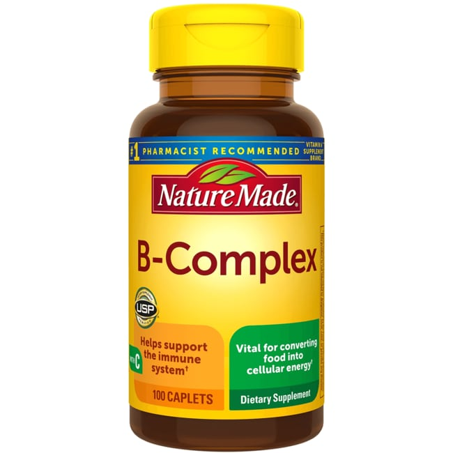 Nature Made B-Complex with Vitamin C 100 Cplts - Swanson Health ...
