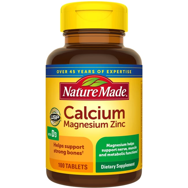 Nature Made Calcium Magnesium And Zinc With Vitamin D Review
